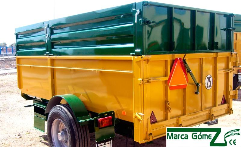 Remolque agricola-MODELO RB1 - MODULAR