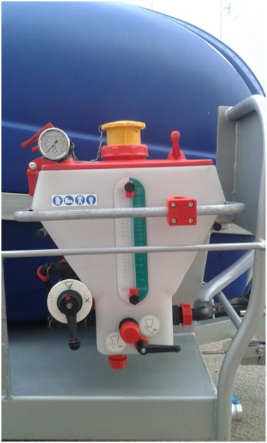 atomizador agricola pulverizador Premezclador lateral