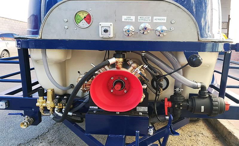 Bomba de membrana atomizador agricola.